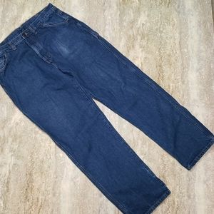 REED DOUBLE KNOT CARPENTER WORK JEANS SIZE 38X34
